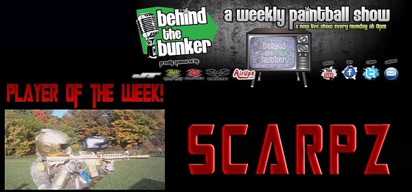 Behind The Bunker – Player of The Week – Episode 85 SCARPZ Online Webisode TV Series Streamed Live Every Monday At 8pm!