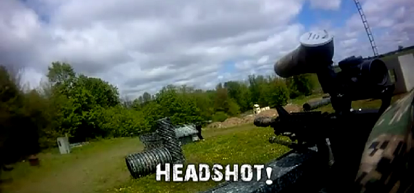 Helmet Cam: Best Paintball Video On YouTube – 11 Kills/Outs In One Game – Woodsball Un-Edited