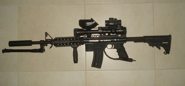 My Weapon of Choice: Tippmann 98 Custom M4 Sniper