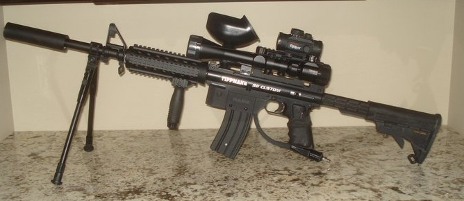 Sniper M4 All Out Tippmann Upgrades