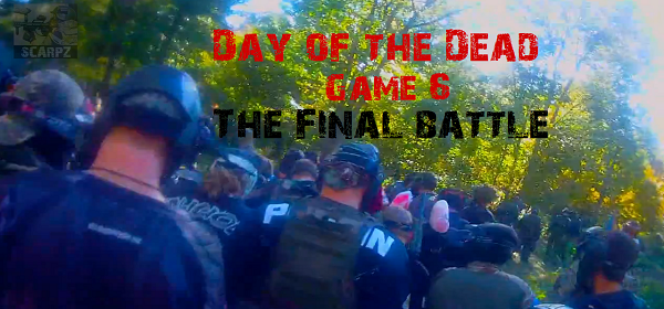 First Person Paintball Humans vs Zombies Day of the Dead 11 Game 6 –  Flagswipe Outdoor [HD] 600×280 Final Battle