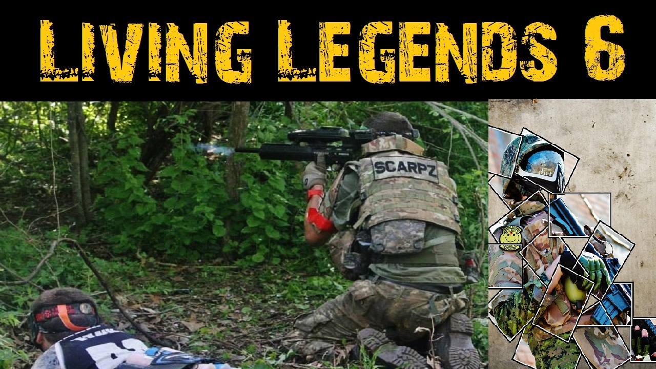 LL6: Living Legends 6: Scarpz Paintball Scenario Big Game Event Joliet Illinois, Chicago, America, USA, London Ontario Canada Milsim Jungle Warfae First Person Paintball Shooter Videos