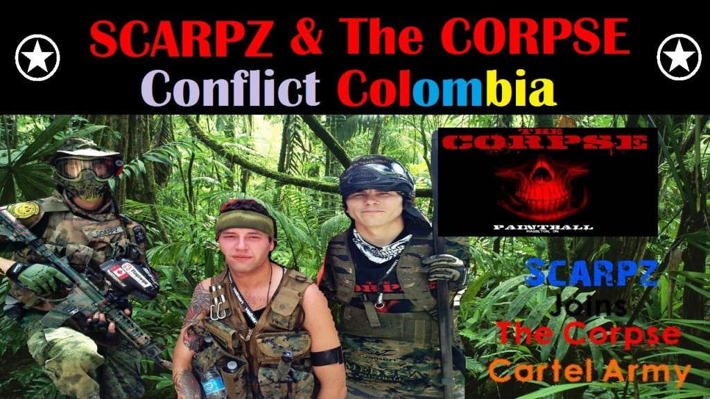 SCARPZ @ CONFLICT COLOMBIA Hamilton Ontario Canada Matt Scarpelli London Ontario Canadian Athlete Sports Paintballer Woodland Camo Soldier Military Special Spec Ops Best Elite
