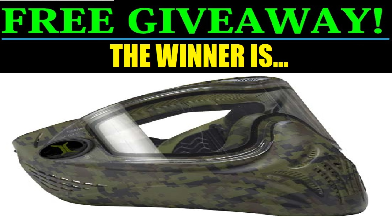 FREE GIVEAWAY: Avatar Camo Mask WINNER!!