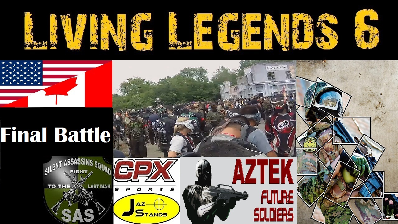 Scarpz Paintball HD Living Legends 6 Joliet Illinois, Chicago Illinoi America London Ontario Canada Tippman X7 Phenom G36Kit First Person HD Jungle Forest