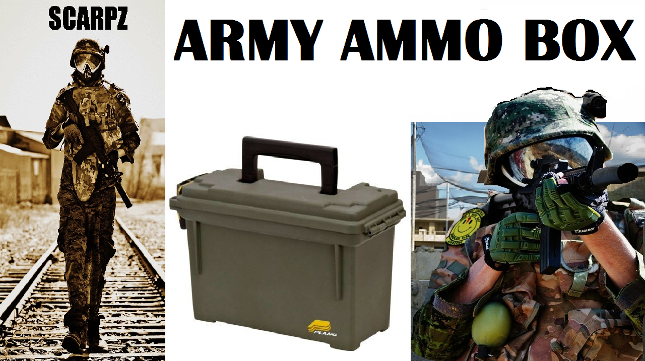 Army Ammo Box Olive Green Waterproof Air Tight Sealed Handle 3″ x 9 1/2″ x 5″ plastic army military ammo grenades bullet box Photo image picture pic