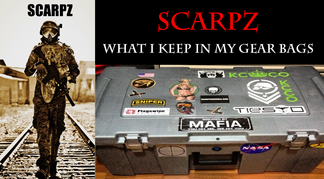 SCARPZ: What I Keep In My Gear Bags PAINTBALL GEAR OTV BODY ARMOR VEST Review SCARPZ Army Military Soldier America Canada Buy Purchase Cheap Store Shop Camo Airsoft World Cost Green Black Camo
