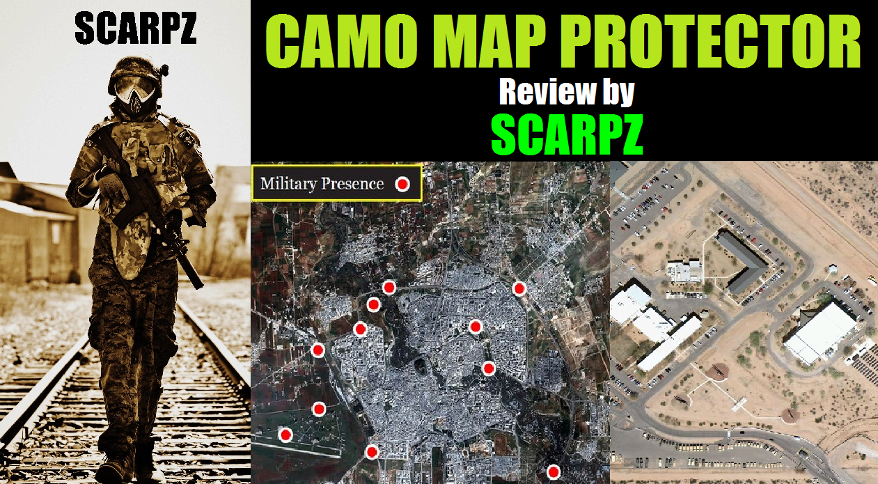 ARMY MAP Protective Cover: Review by Scarpz Military Soldiers 2014 Info Price Cost Buy Online Store Shop Image Pic HD Review London Ontario Canada Woodsball Scenario Gear Equipment Clothes