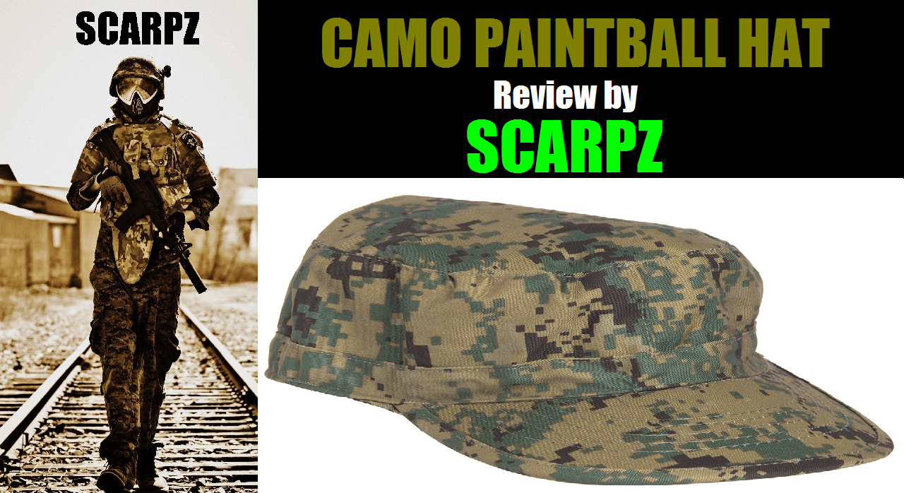 CAMO PAINTBALL HAT: Review by SCARPZ Military Soldiers 2014 Info Price Cost Buy Online Store Shop Image Pic HD Review Clothes Camo Purchase Win Free Giveaway FREE