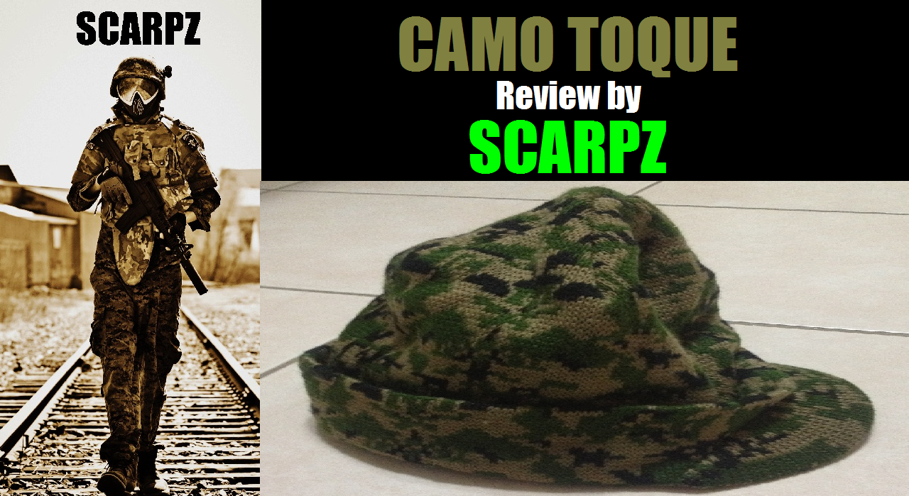 CAMO TOQUE: Review by SCARPZ  Military Soldiers 2014 Info Price Cost Buy Online Store Shop Image Pic HD Review Clothes Camo Purchase Win Free Giveaway FREE