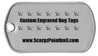 ARMY DOG TAGS: Custom Name Engravings: Review by SCARPZ Military Soldiers 2014 Info Price Cost Buy Online Store Shop Image Pic HD Review Clothes Camo Purchase Win Free Giveaway FREE
