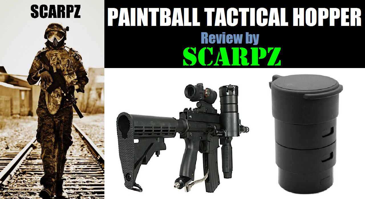 SCARPZ's Paintball Tactical Hopper Tac 2014 Tippmann X7 Phenom A5 Marker Gun Mod Upgrade Info Price Cost Buy Online Store Shop Image Pic HD Review