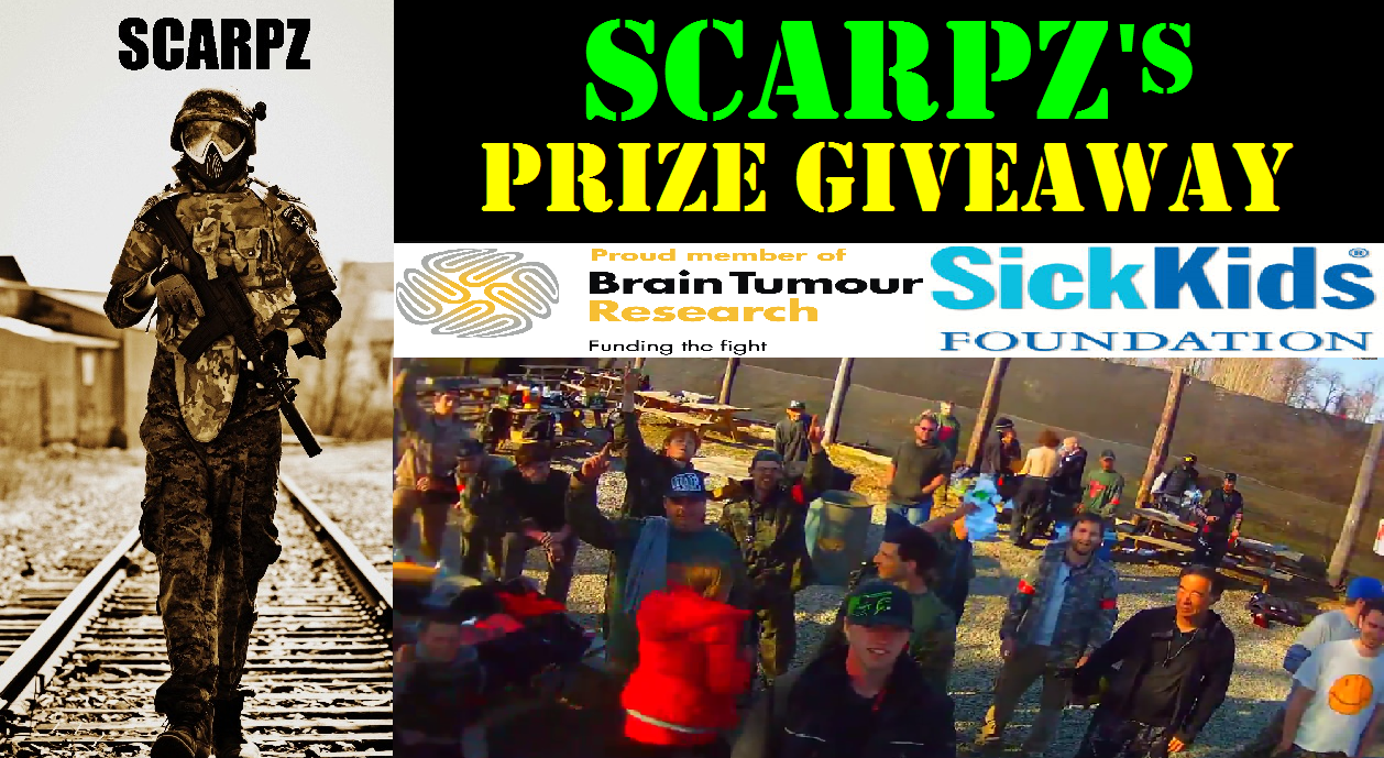 SCARPZ Hamilton Ontario Day of Redemption SOF Soldiers of Fortune Charity Big Game Event Sick Kids Foundation Brain Tumor Research London Support Raise