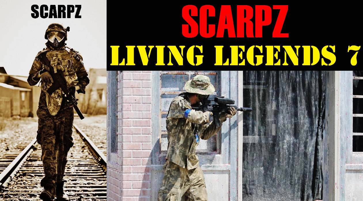 SCARPZ @ Living Legends 7 CPX Sports Joliet Illinois Matt Scarpelli Scarpz London Ontario Canada Canadian Male Guy Boy Paintballer Hot On Fire Fast Quick Sharpshooter Tippmann X7 Phenom G36 Kit