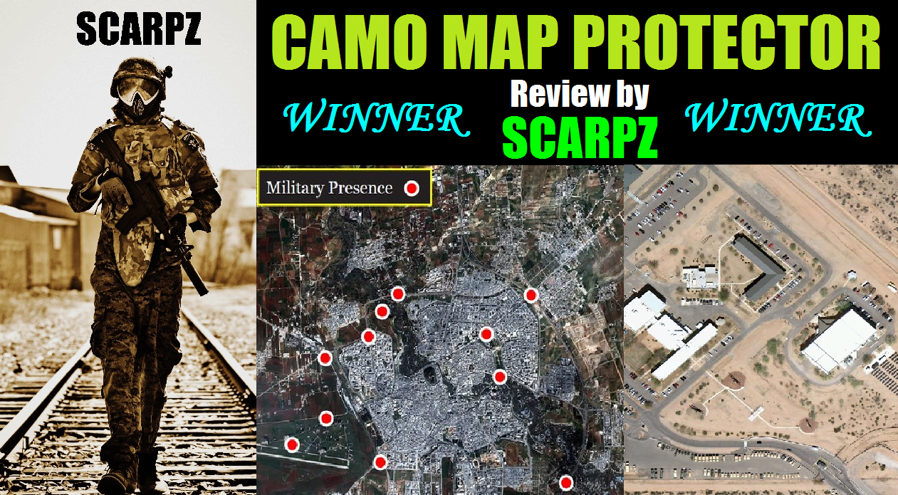 ARMY MAP Protective Cover Prize Giveaway Winner Review by SCARPZ SCARPZ Tactical Army Soldier Review PAINTBALL Review By SCARPZ Military Soldiers 2014 Info Price Cost Buy Online Store Shop Image Pic HD Review Camo Purchase