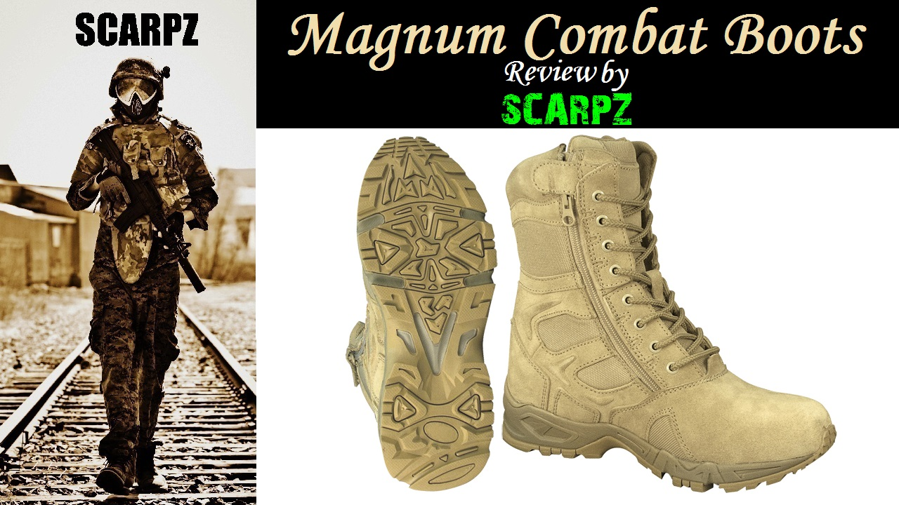 Magnum Combat Boots REVIEW by SCARPZ Tactical Army Soldier Review PAINTBALL Review By SCARPZ Military Soldiers 2014 Info Price Cost Buy Online Store Shop Image Pic HD Review Camo Purchase