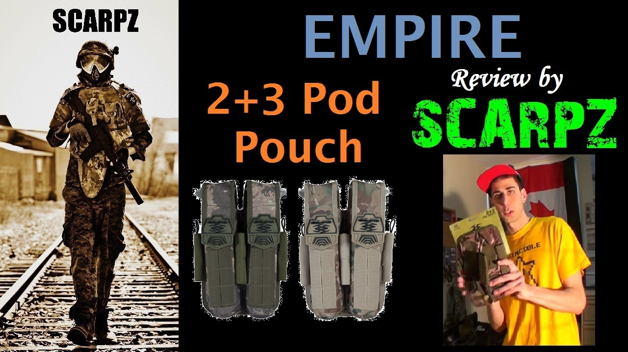 Empire 2+3 Pod Pouch: Review by SCARPZ Prize Giveaway Winner Tactical Army Soldier Review PAINTBALL Review By SCARPZ Military Soldiers 2014 Info Price Cost Buy Online Store Shop Image Pic HD Review Camo Purchase